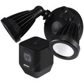 ESCAM QF608 WiFi IP Camera CCTV Floodlight PIR Detection HD 1080P - Black - 2
