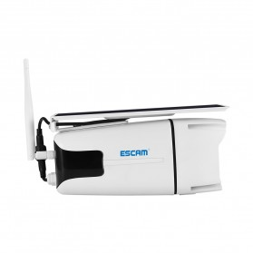 ESCAM YN88 Watchmen WiFi IP Camera CCTV 1/4 Inch 2MP 1080P Solar Panel Power - White - 3