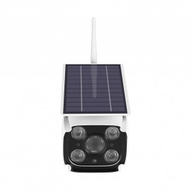 ESCAM YN88 Watchmen WiFi IP Camera CCTV 1/4 Inch 2MP 1080P Solar Panel Power - White - 4