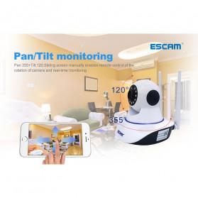 ESCAM G01 Bullet IP Camera CCTV 1/4 Inch CMOS 1080P - White - 3
