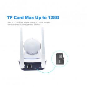 ESCAM G01 Bullet IP Camera CCTV 1/4 Inch CMOS 1080P - White - 8
