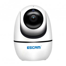 ESCAM PVR008 Auto Tracking IP Camera CCTV 1/2.9 Inch CMOS 1080P - White