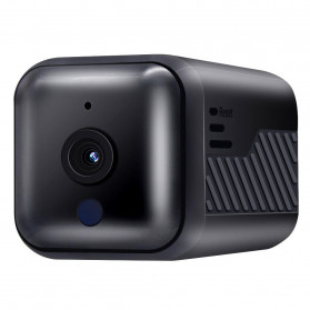 ESCAM Smart Mini WIFI IP Camera CCTV Spy Cam Night Vision Audio - G16 - Black - 2