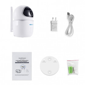 ESCAM QF009 IP Camera CCTV Cloud Storage 1/3 Inch 2MP CMOS 1080P - White - 6