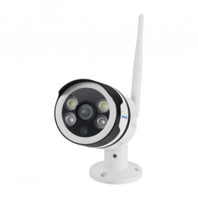 ESCAM QD109 WiFi Waterproof Bullet Wireless IP Camera CCTV 1/3 Inch 1MP CMOS 720P - White - 5