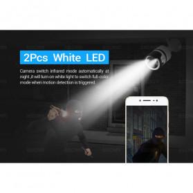 ESCAM QD109 WiFi Waterproof Bullet Wireless IP Camera CCTV 1/3 Inch 1MP CMOS 720P - White - 7