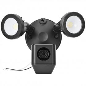 ESCAM QF612 Floodlight WiFi IP Camera CCTV PIR Detection HD 1080P - Black - 4