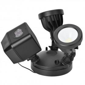 ESCAM QF612 Floodlight WiFi IP Camera CCTV PIR Detection HD 1080P - Black - 5