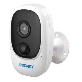 ESCAM G08 Mini WiFi IP Camera CCTV HD 1080P - White