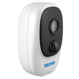 ESCAM G08 Mini WiFi IP Camera CCTV HD 1080P - White - 2