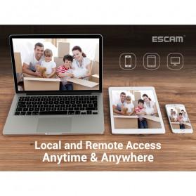 ESCAM NVR Kit HD 8Ch with 8 CCTV 3MP - PVR602 - Black - 9
