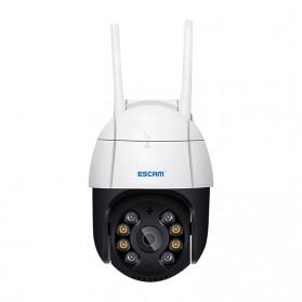 ESCAM QF218 Dome WiFi IP Camera CCTV 1/2.7 Inch CMOS 1080P with LED Light - White - 2