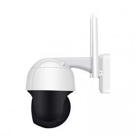 ESCAM QF218 Dome WiFi IP Camera CCTV 1/2.7 Inch CMOS 1080P with LED Light - White - 4
