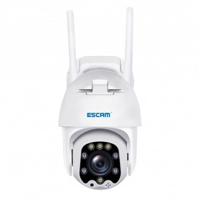 ESCAM QF288 Dome WiFi IP Camera CCTV 1/2.7 Inch CMOS 1080P 8xZoom with LED Light - White - 4