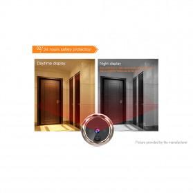 ESCAM C03 Kamera Pintu Home Security Smart Doorbell LCD Monitor 2.8 Inch - Golden - 4