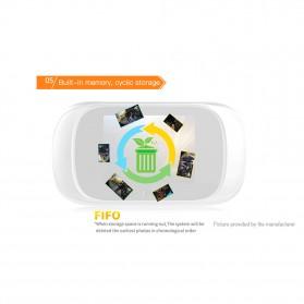 ESCAM C03 Kamera Pintu Home Security Smart Doorbell LCD Monitor 2.8 Inch - Golden - 6