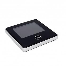 ESCAM C05 Kamera Pintu Home Security Smart Door Viewer Peephole LCD Monitor 3 Inch - Black - 3