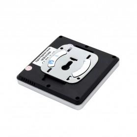ESCAM C05 Kamera Pintu Home Security Smart Door Viewer Peephole LCD Monitor 3 Inch - Black - 4