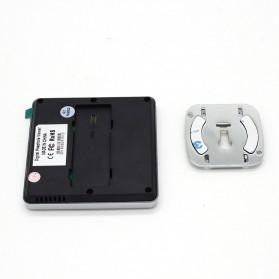 ESCAM C05 Kamera Pintu Home Security Smart Door Viewer Peephole LCD Monitor 3 Inch - Black - 5