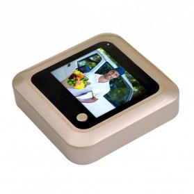 ESCAM C08 Kamera Pintu Home Security Smart Doorbell LCD Monitor 2.4 Inch - Golden - 3