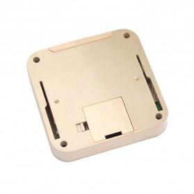 ESCAM C08 Kamera Pintu Home Security Smart Doorbell LCD Monitor 2.4 Inch - Golden - 4