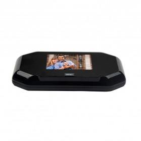 ESCAM C09 Kamera Pintu Home Security Smart Door Viewer Peephole LCD Monitor 3 Inch - Black - 2