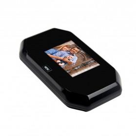 ESCAM C09 Kamera Pintu Home Security Smart Door Viewer Peephole LCD Monitor 3 Inch - Black - 3
