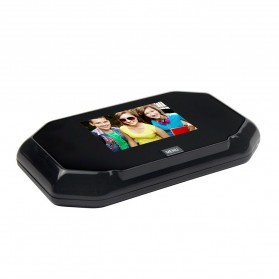 ESCAM C09 Kamera Pintu Home Security Smart Door Viewer Peephole LCD Monitor 3 Inch - Black - 4