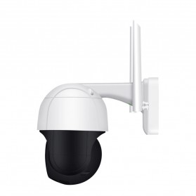 ESCAM QF518 Dome WiFi IP Camera CCTV 1/2.7 Inch CMOS 5MP with LED Light - White - 5