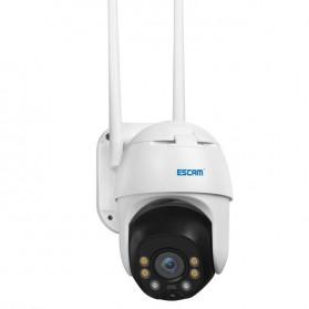 ESCAM QF130 WiFi IP Camera CCTV HD 1080P 2MP Solar Panel - White - 4