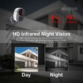 ESCAM G15 Dome WiFi IP Camera CCTV AI Recognition 1/3 Inch CMOS 1080P - White - 5