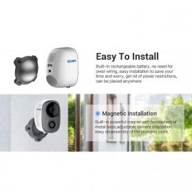 ESCAM G15 Dome WiFi IP Camera CCTV AI Recognition 1/3 Inch CMOS 1080P - White - 7