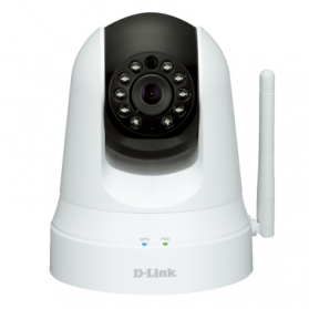 D-Link Wireless N Day & Night Pan/Tilt Cloud Camera - DCS-5020L - White