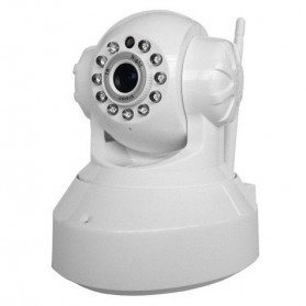 Network Rotation IP Camera 720P Millions HD - HH6810 - White