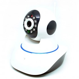 Network Rotation IP Camera 720P Millions HD - S6211Y-WR - White