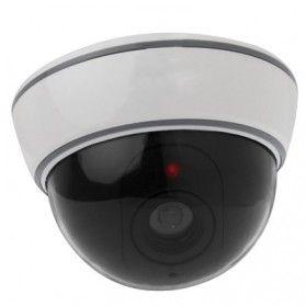 Fake Dummy Dome CCTV - 15360 - White/Black