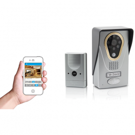 OkayLight WiFi IP Video Door Phone - OKL400 - Black/Silver