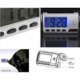 YYS Kamera Pengintai Jam Digital 720P Motion Sensor dengan Remot Kontrol - Z17 - Black - 5