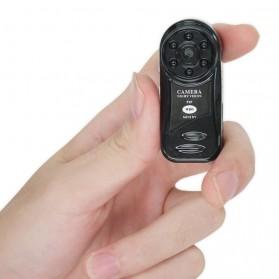 Mini WiFi IP Camera CCTV HD 720P Nightvision - Black