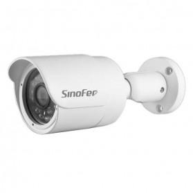 Waterproof Bullet IP Camera CCTV 960P - White - 2