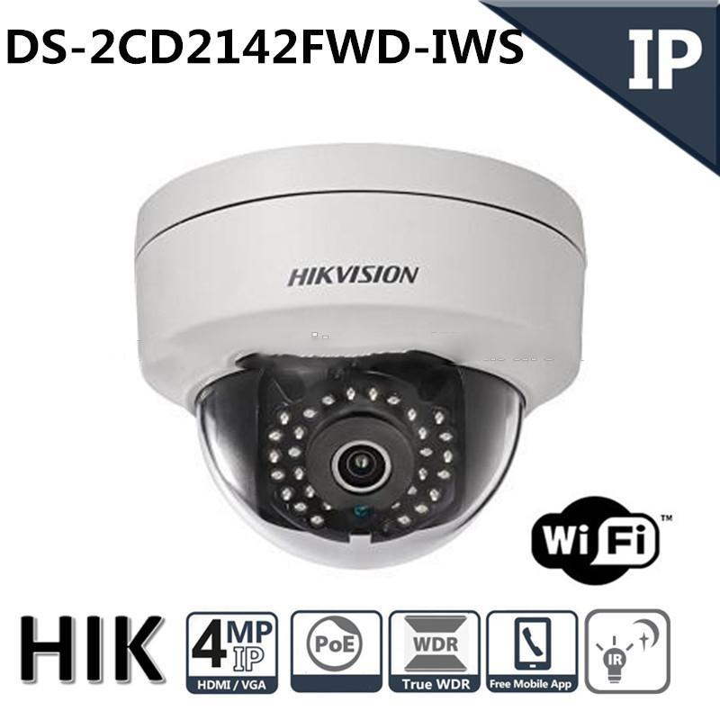 Hikvision WiFi IP Camera CCTV 1080P 4MP - White