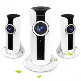 Panoramic Wireless IP Camera CCTV 360 Degree 720P - 161220 - White