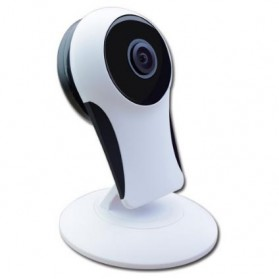 Panoramic Wireless IP Camera CCTV 360 Degree 720P - 161221 - White