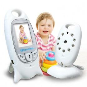 Kamera Pengawas Bayi dengan Monitor - White