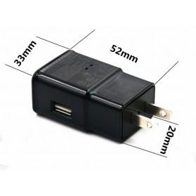 Kamera Pengintai WiFi Spy Camera Bentuk Charger Samsung 1080P - Black - 4