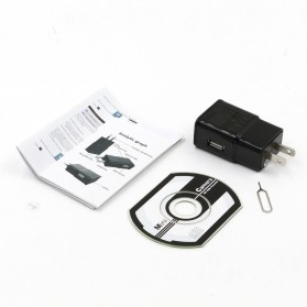 Kamera Pengintai WiFi Spy Camera Bentuk Charger Samsung 1080P - Black - 6