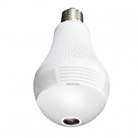 Bohlam LED E27 dengan CCTV IP Camera 960P 1.3MP 130W - B13-L-V2 - White - 2