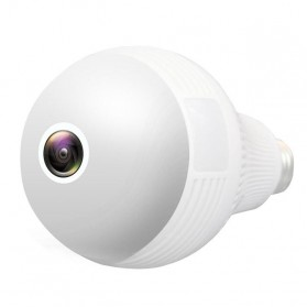 Bohlam LED E27 dengan CCTV IP Camera 960P 1.3MP 130W - B13-L-V2 - White - 3