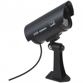 Kamera CCTV Outdoor Waterproof Palsu Dummy - Black - 2