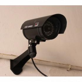 Kamera CCTV Outdoor Waterproof Palsu Dummy - Black - 4